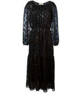 Saint Laurent | Star Pattern Tie Dress 36 Silk/Polyamide