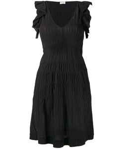 Masscob | Ruffled Sleeves Flared Dress Size Large