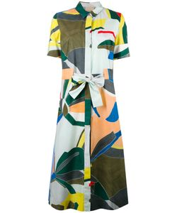 Erika Cavallini | Abstract Print Shirt Dress 42 Cotton/Polyester