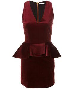 Pierre Balmain | Платье С V-Образным Вырезом И Баской