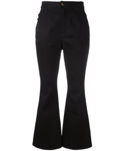 Ellery | Fla Cropped Trousers 28 Cotton/Spandex/Elastane