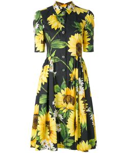Dolce & Gabbana | Sunflower Shirt Dress