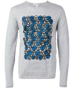 Comme Des Garcons | Comme Des Garçons Shirt Printed Sweatshirt Size Large