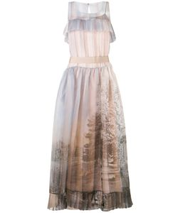 Fendi | Printed Voile Dress 42