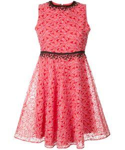 GIAMBA   Pleated Trim Dress 42