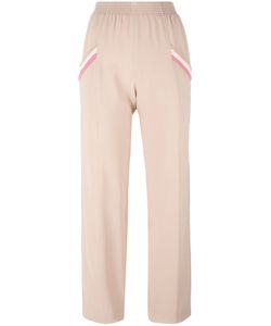 Agnona | Relaxed Cropped Trousers 40 Silk/Viscose/Spandex/Elastane/Silk