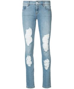 MARCELO BURLON COUNTY OF MILAN | Distressed Dixie Skinny Jeans