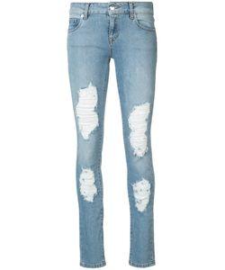 MARCELO BURLON COUNTY OF MILAN | Distressed Dixie Skinny Jeans