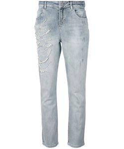 Twin-set | Pear Embellished Jeans 28