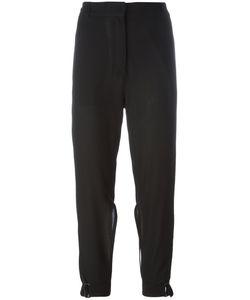 Ann Demeulemeester | Ankle-Tie Trousers 38 Virgin Wool/Cotton/Rayon