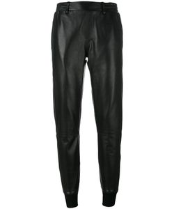 Manokhi | Slim-Fit Trousers 36 Lamb Skin