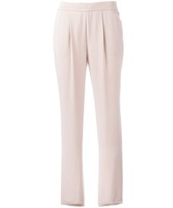 Akris | Straight Trousers 38 Lyocell/Viscose