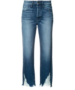 3X1 | Raw Hem Cropped Jeans