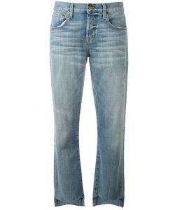 Current/Elliott | Straight-Leg Jeans 26 Cotton/Polyester/Spandex/Elastane