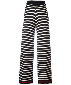 Chinti And Parker | Knitted Breton Stripe Trousers Medium