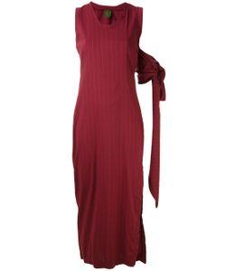 ROMEO GIGLI VINTAGE | Long Pinstripe Dress