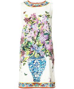 Dolce & Gabbana   Платье Шифт С Цветочным Принтом