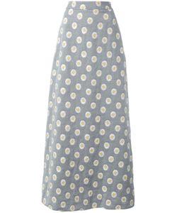 Ultràchic | Daisy Print Maxi Skirt 40 Cotton/Polyester