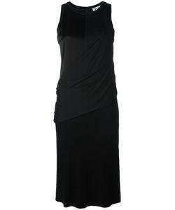 DKNY   Draped Wrap Shirt Dress Small Silk/Polyester/Spandex/Elastane/Wool