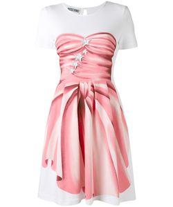 Moschino | Платье С Принтом-Обманкой