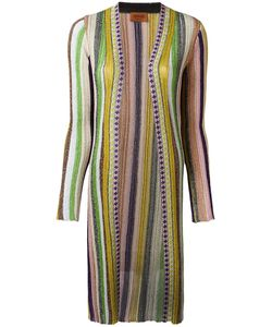 Missoni | Striped Cardigan 44 Cupro/Polyester