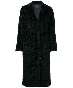 'S Max Mara | Фактурное Пальто Под Пояс