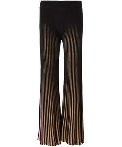 Kenzo | Ribbed Fla Trousers Xs Cotton/Viscose