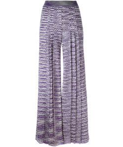 Missoni | Knitted Palazzo Trousers 42 Viscose/Nylon