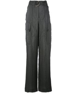 Nina Ricci | High-Rise Belted Trousers
