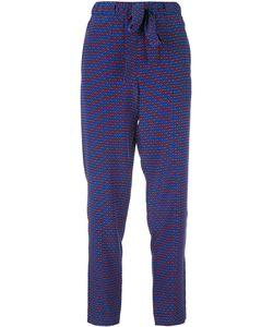 Tory Burch | Printed Pants 8 Silk