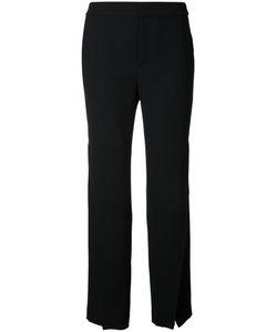 LE CIEL BLEU | Front Slit Straight Pants 36