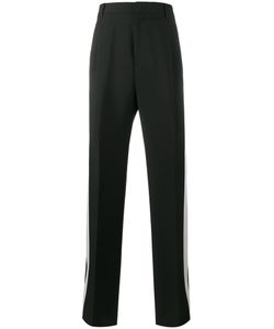 Givenchy | Stripe Wide-Leg Tuxedo Trousers 46 Wool/Mohair/Acetate/Polyester