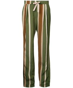 Roberto Collina | Striped Trousers Size Large
