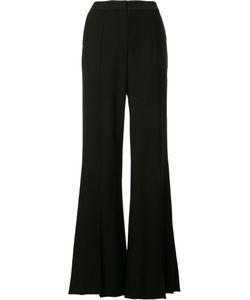 HELLESSY | Slit Leg Fla Trousers 6 Viscose/Spandex/Elastane/Silk