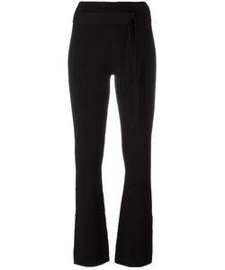 Designers Remix | Ribbed Fla Pants Small Cotton/Polyamide