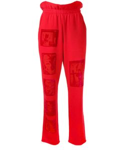 Mikio Sakabe | Devoré Patch Trousers Size Medium