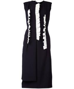 Comme Des Garcons | Comme Des Garçons Laye Midi Dress Medium Wool/Cotton