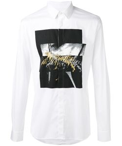 Les Hommes | Printed Shirt Size 52