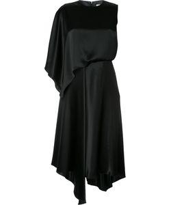 LE CIEL BLEU | Платье На Одно Плечо С Оборками