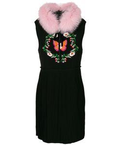 AMUSE | Pansy Embroidered Dress Women M