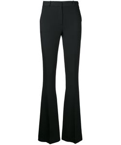 CAPUCCI   Fla Fitted Trousers Womens Size 44 Acetate/Viscose/Spandex/Elastane