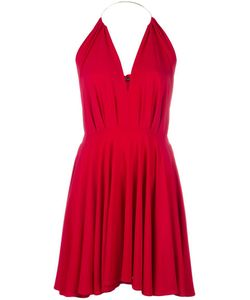 Plein Sud | Pleated Dress 38 Viscose/Spandex/Elastane