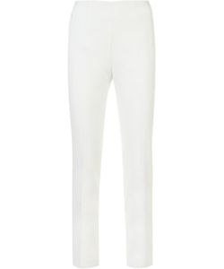 Akris | Slim-Fit Trousers 4 Cotton/Silk/Spandex/Elastane/Polyimide