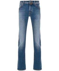 Jacob Cohёn | Front Faded Denim Jeans Men