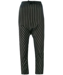 Nude | Striped Drop-Crotch Trousers 42