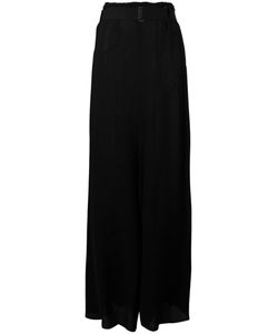 Ann Demeulemeester | Long Draped Skirt