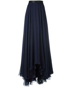 Lanvin | Pleated Maxi Skirt 36 Silk