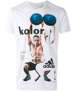 adidas x Kolor | Adidas By Kolor Printed Short Sleeve T-Shirt Small