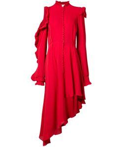 Magda Butrym | Асимметричное Платье С Рюшами