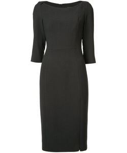 Black Halo   Fitted Shift Dress